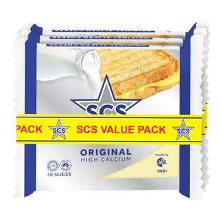 SCS CHEESE ORIGINAL VALUE PACK 3S 600G
