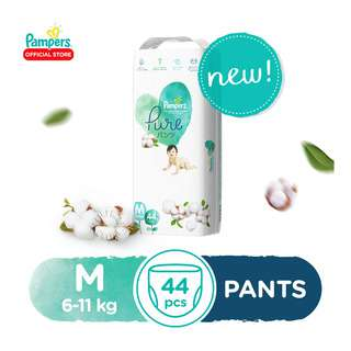 Pampers Pure Pants - M (6 - 11kg)