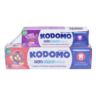 Kodomo Extra Shield Children's Toothpaste - Strawberry