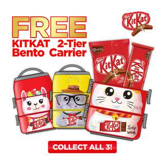 Nestle Kit Kat 2 Finger Chocolate Bar - Milk+BentoCarrier