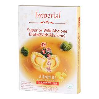 Imperial Abalone in Superior Beauty Collagen Broth