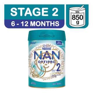 Nestle Nan Optipro Follow-Up Milk Formula - Stage 2