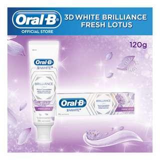 Oral-B 3D Brilliance Toothpaste - Fresh Lotus