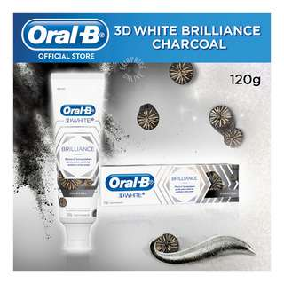 Oral-B 3D White Brilliance Toothpaste - Charcoal