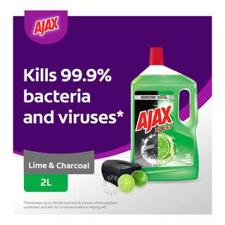 Ajax Boost Multipurpose Cleaner - Lime & Charcoal