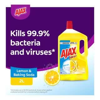 Ajax Boost Multipurpose Cleaner - Lemon & Baking Soda