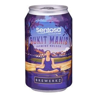 Brewerkz Can Beer - Bukit Manis (Jasmine Kolsch)