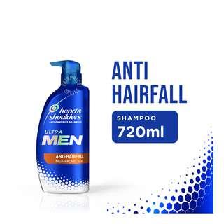 Head & Shoulders Ultra Men Anti-Dandruff Shampoo -Anti-Hairfall