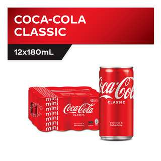 Coca-Cola Classic Mini Cans (Pack of 12)