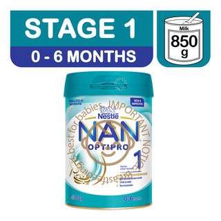 Nestle Nan Optipro Infant Milk Formula - Stage 1