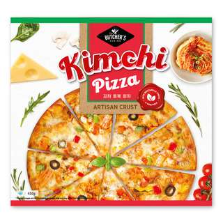 THE BUTCHER'S DINING KIMCHI PIZZA 450G