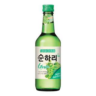 Lotte Chum Churum Bottle Soju - Grape