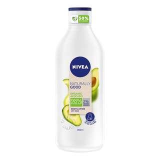 Nivea Naturally Good Body Lotion - Dry Skin (Organic Avocado)