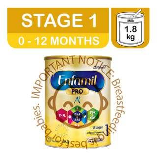 Enfamil Pro A+ Infant Milk Formula
