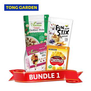 Tong Garden Nuts + N.O.I Fun Stix Bundle Set - 1