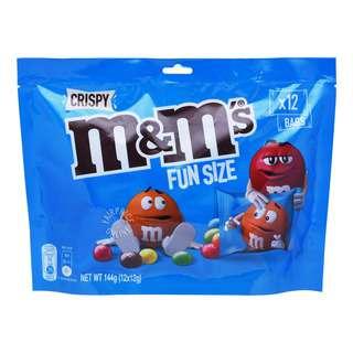 M&M's Fun Size - Crispy