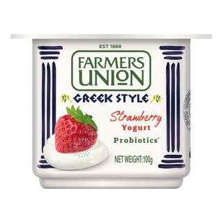Farmers Union Greek Style Yoghurt - Strawberry
