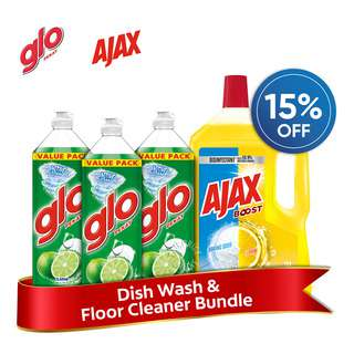 Glo Dish Wash & Floor Cleaner Bundle