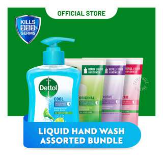 Dettol Liquid Hand Wash Bundle