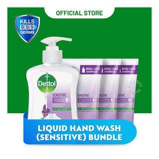 Dettol Liquid Hand Wash Bundle - Sensitive