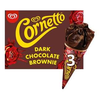 Cornetto Ice Cream - Dark Chocolate Brownie