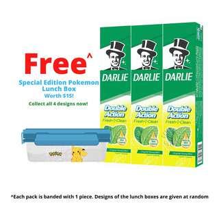 Darlie Double Action Flouride Toothpaste - Original