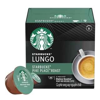 Nescafe Dolce Gusto Starbucks Coffee Capsules - Lungo