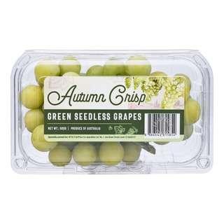 Autumn Crisp Australia Green Seedless Grapes