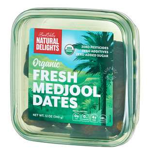 Bard Valley Natural Delights Organic Fresh Medjool Dates