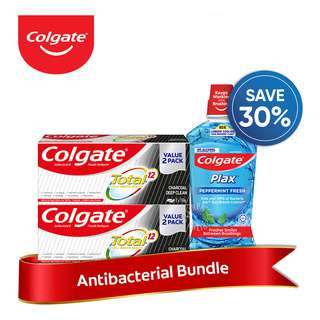Colgate Toothpaste & Mouthwash Bundle