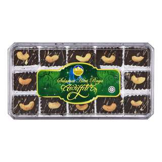 Gunung Emas Cookies - Double Chocolate Cashew Nut