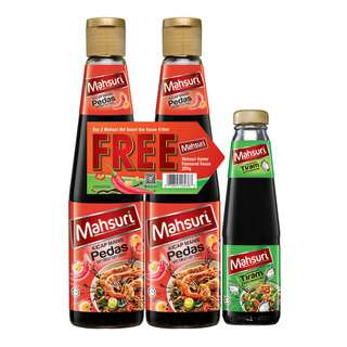 Mahsuri Soy Sauce - Hot Sweet + Free Oyster Sauce