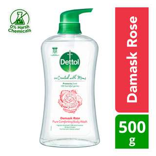 Dettol Co-Created with Moms Body Wash - Damask Rose