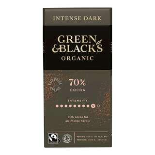 Green & Black's Organi Intense Dark Chocolate (70% Cocoa)
