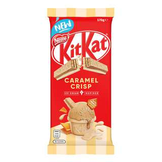 Nestle Kit Kat Chocolate Block - Caramel Crisp