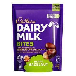 Cadbury Dairy Milk Bites - Happy Hazelnut
