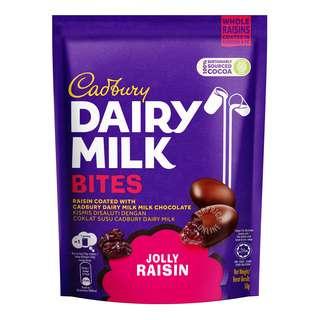 Cadbury Dairy Milk Bites - Jolly Raisin