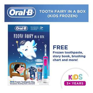 Oral-B Kids Toothbrush - Tooth Fairy In A Box