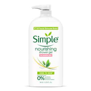 Simple Shower Gel - Nourishing