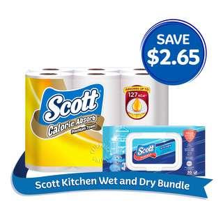 Scott Kitchen Wet & Dry Bundle