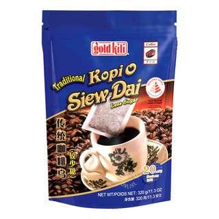 Gold Kili Traditional Kopi O - Less Sugar