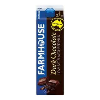 Farmhouse Low Fat Flavoured Milk - Dark Chocolate