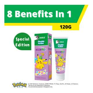 Darlie Double Action Pokemon Toothpaste - Multi Care
