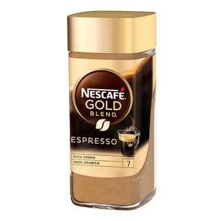 NESCAFE GOLD ESPRESSO 100G