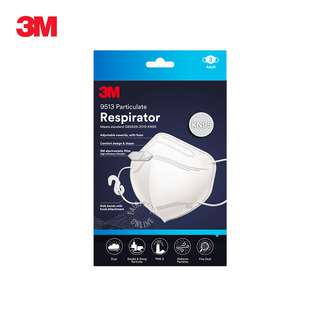 3M Particulate Respirator KN95 Face Mask - Adult