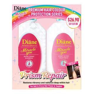 Moist Diane Miracle You Shampoo + Treatment- Prism Repair