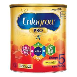 Enfagrow Pro A+ Growing Up Milk Powder Formula - Stage 5
