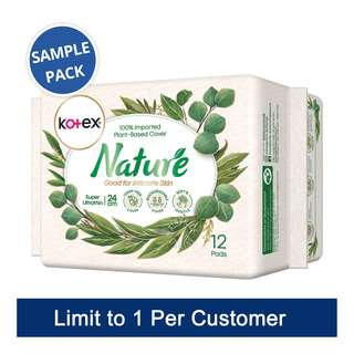 Kotex Nature Day Pads - Super Ultrathin (24cm)(SamplePack)