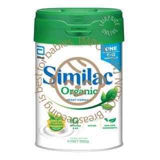 Similac Organic Stage 1 900g