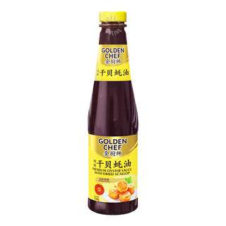 Golden Chef Premium Oyster Sauce with Dried Scallop